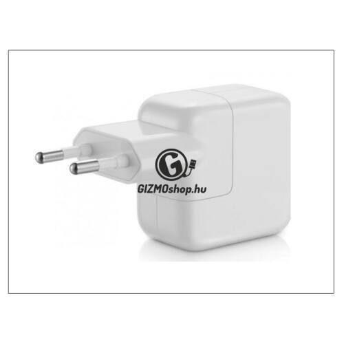 Apple iPhone 3G/3GS/4/5/iPad2/iPad3/iPad Air USB hálózati töltő adapter – 5V/2,4A – 12 W – MD836ZM/A