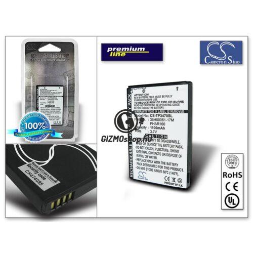 HTC Pharos/P3470/Touch Viva/Opal akkumulátor – (BA S320 utángyártott) – Li-Ion 1100 mAh – PRÉMIUM