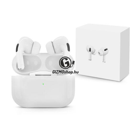 Extreme TWS Bluetooth sztereó headset v5.0 + töltőtok – Extreme i3 Pro True Wireless Headset with Charging Case – fehér