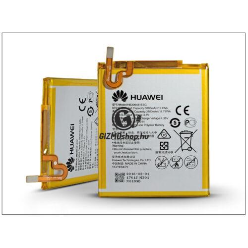Huawei Y6 II/Y6–2/G8/G8x/G7/Honor 5X Plus gyári akkumulátor – Li-polymer 3000 mAh – HB396481EBC (ECO csomagolás)