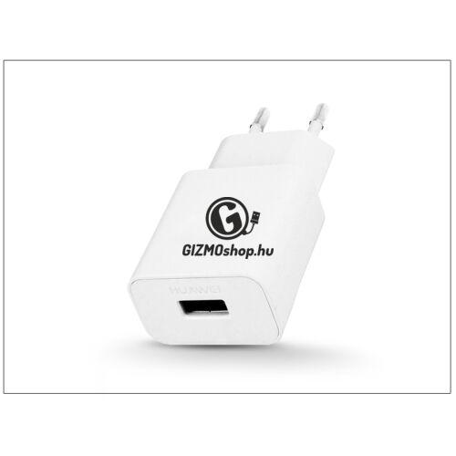 Huawei gyári USB hálózati töltő adapter – 5V/2A – HW-050200E01 white (ECO csomagolás)