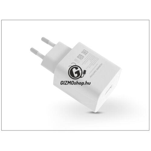 Huawei gyári USB hálózati töltő adapter – 5V/2A és 4,5V/5A és 5V/4,5A – SuperCharge HW-050450E00 white (ECO csomagolás)
