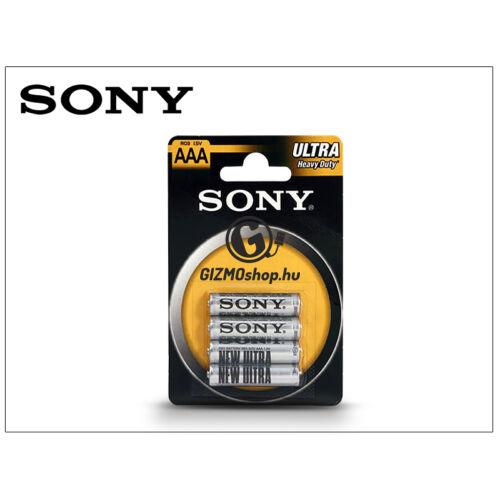 Sony Ultra Carbon Zinc AAA micro elem – 4 db/csomag