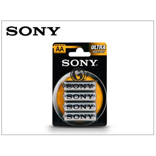 Sony Ultra Carbon Zinc AA ceruza elem – 4 db/csomag