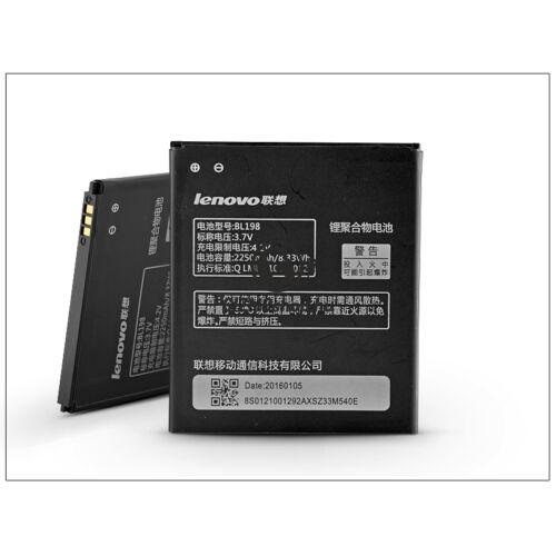 Lenovo A830/A850/A860/K860/S880 gyári akkumulátor – Li-ion 2250 mAh – BL198 (ECO csomagolás)
