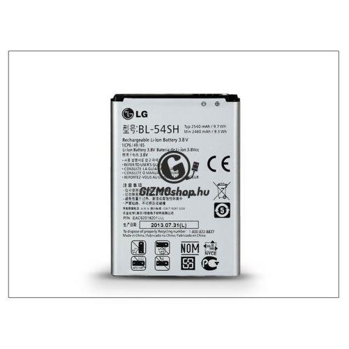 LG D405N L90/D722 G3s/D390 L80 gyári akkumulátor – Li-ion 2460 mAh – BL-54SH (csomagolás nélküli)