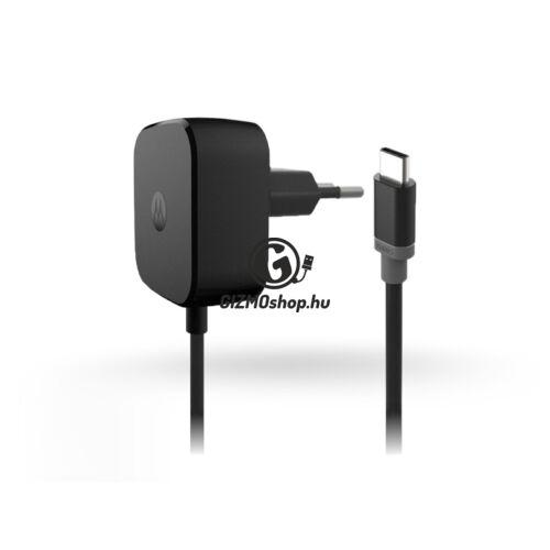 Motorola USB Type-C hálózati gyorstöltő – 5V/3A – SPN5915A black (ECO csomagolás)
