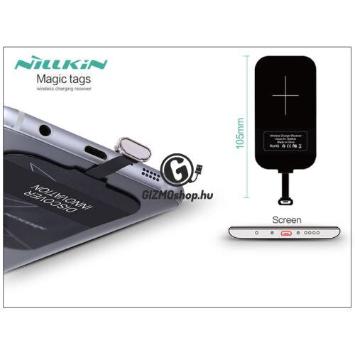 Nillkin Magic Tags Qi adapter vezeték nélküli töltő állomáshoz – Micro USB Type-A