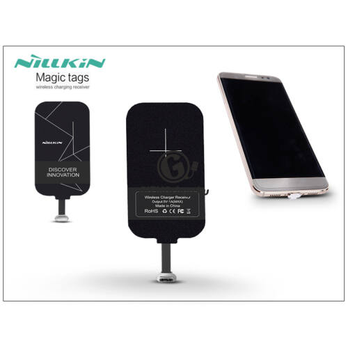 Nillkin Magic Tags Qi adapter vezeték nélküli töltő állomáshoz – USB Type-C Short Version – WRC