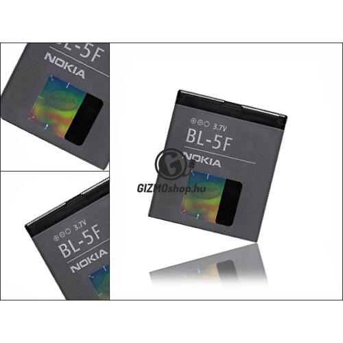 Nokia 6290/E65/N95/N93i gyári akkumulátor – Li-ion 950 mAh – BL-5F (csomagolás nélküli)