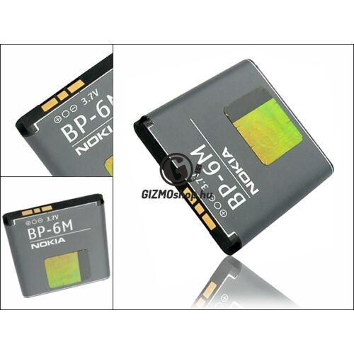 Nokia 9300/6233/N93/N73/6280/6151/3250 gyári akkumulátor – Li-Ion 1070 mAh – BP-6M (csomagolás nélküli)