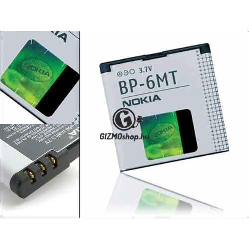 Nokia N81/E51 gyári akkumulátor – Li-Ion 1050 mAh – BP-6MT (csomagolás nélküli)