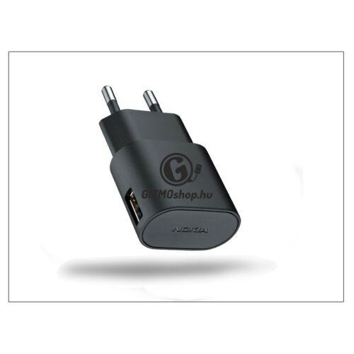 Nokia USB hálózati töltő adapter – 5V/1,3A – AC-50E – black (csomagolás nélküli)