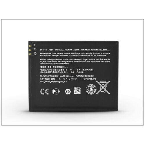 Microsoft Lumia 950 XL gyári akkumulátor – Li-Ion 3340 mAh – BV-T4D (ECO csomagolás)