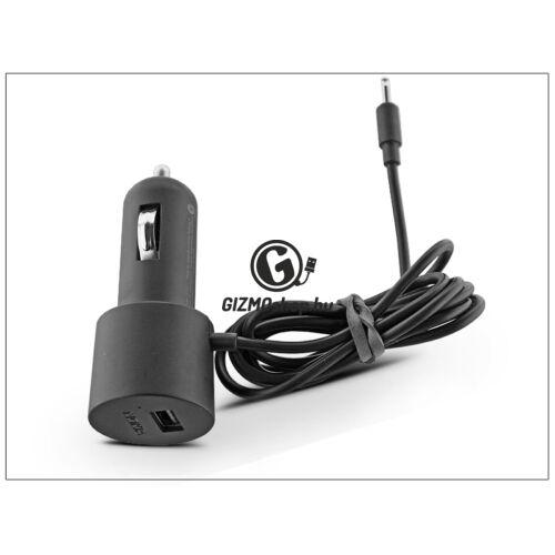 Nokia 6101/N70/6300/6120 gyári szivargyújtós töltő + USB csatlakozó – DC-22 (ECO csomagolás)