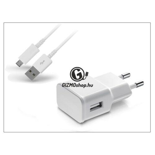 Univerzális USB hálózati töltő adapter + micro USB adatkábel – 5V/2A – ETA-U90EWE white utángyártott