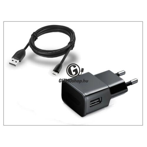 Univerzális USB hálózati töltő adapter + micro USB adatkábel – 5V/2A – ETA-U90EBEG black utángyártott