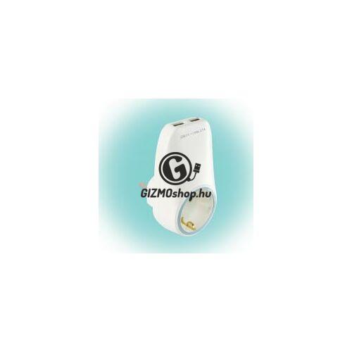 Hálózati aljzat USB töltőaljzatokkal