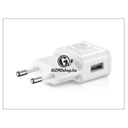 Samsung gyári USB hálózati töltő adapter – 5V/2A – ETA-U90EWEG white (csomagolás nélküli)