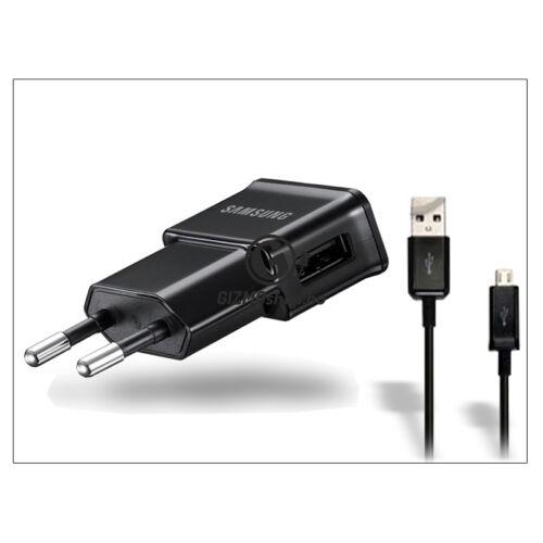 Samsung gyári USB hálózati töltő adapter + micro USB adatkábel – 5V/2A – ETA-U90EBEGSTD (ECO csomagolás