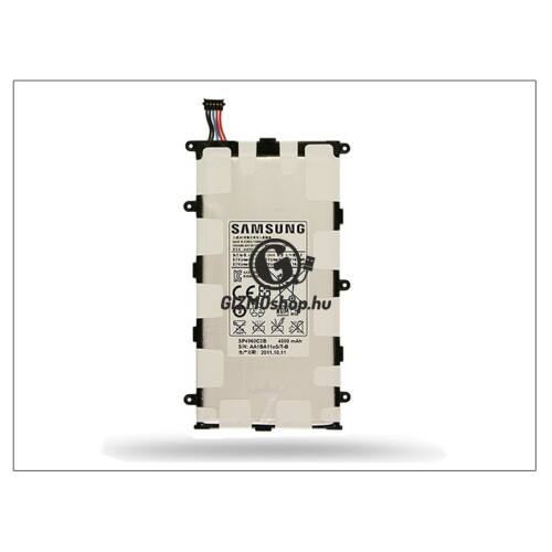 Samsung P3100 Galaxy Tab 2 7.0 gyári akkumulátor – Li-Ion 4000 mAh – SP4960C3B (csomagolás nélküli)