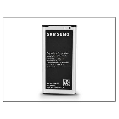Samsung SM-G800 Galaxy S5 Mini gyári akkumulátor – Li-Ion 2100 mAh – EB-BG800BBE/CBE NFC (csomagolás nélküli)