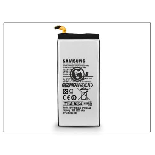 Samsung SM-A500F Galaxy A5 gyári akkumulátor – Li-Ion 2300 mAh – EB-BA500ABE (csomagolás nélküli)