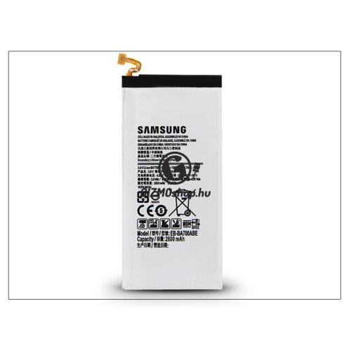 Samsung SM-A700F Galaxy A7 gyári akkumulátor – Li-Ion 2600 mAh – EB-BA700ABE (csomagolás nélküli)