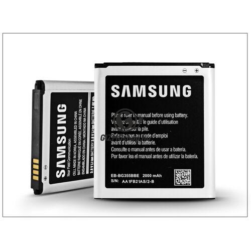 Samsung SM-G355 Galaxy Core 2 gyári akkumulátor – Li-Ion 2000 mAh – EB-BG355BBE NFC (csomagolás nélküli)