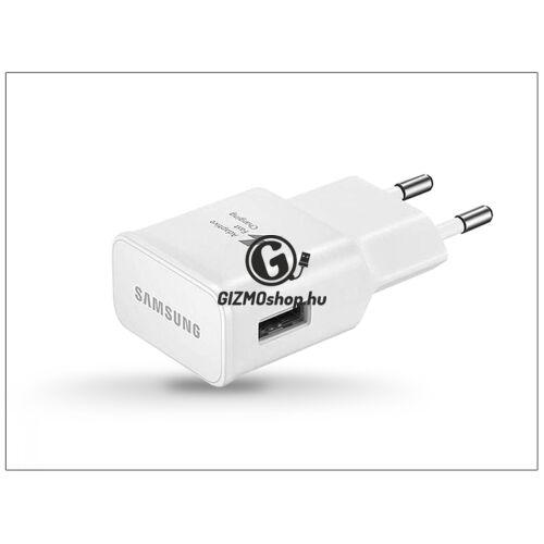 Samsung gyári USB hálózati töltő adapter – 5V/2A – EP-TA20EWE white – Adaptive Fast Charging (csomagolás nélküli)
