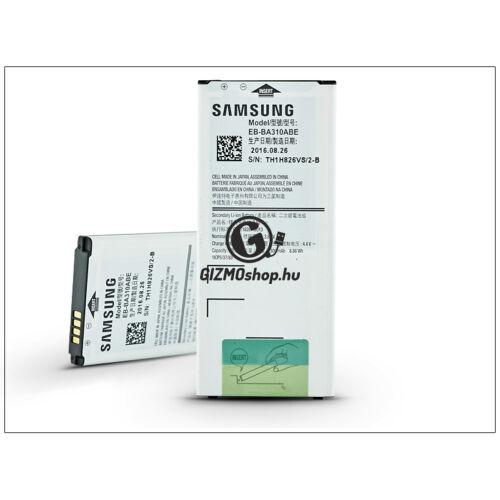 Samsung A310F Galaxy A3 (2016) gyári akkumulátor – Li-Ion 2300 mAh – EB-BA310ABE (bontott/bevizsgált)
