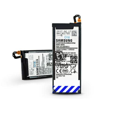 Samsung A520F Galaxy A5 (2017) gyári akkumulátor – Li-Ion 3000 mAh – EB-BA520ABE (ECO csomagolás)
