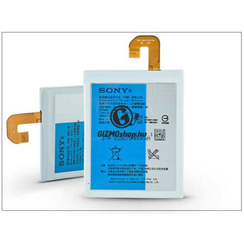 Sony Xperia Z3 Ultra gyári akkumulátor – Li-Polymer 3100 mAh – AGPB013-A001 (bontott/bevizsgált)