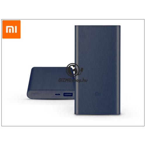 Univerzális hordozható, asztali akkumulátor töltő – Xiaomi Mi Power Bank 2 QC 2.0 – 10.000 mAh – szürke