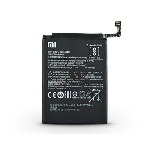 Xiaomi Redmi Note 5/Redmi 5 Plus gyári akkumulátor – Li-polymer 4000 mAh – BN44 (ECO csomagolás)