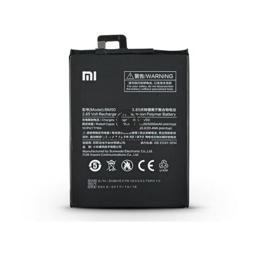Xiaomi Mi Max 2 gyári akkumulátor – Li-polymer 5300 mAh – BM50 (ECO csomagolás)