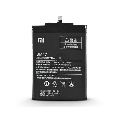Xiaomi Redmi 4X gyári akkumulátor – Li-ion 4100 mAh – BM47 (ECO csomagolás)