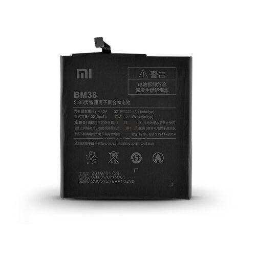 Xiaomi Mi 4S gyári akkumulátor – Li-ion 3210 mAh – BM38 (ECO csomagolás)